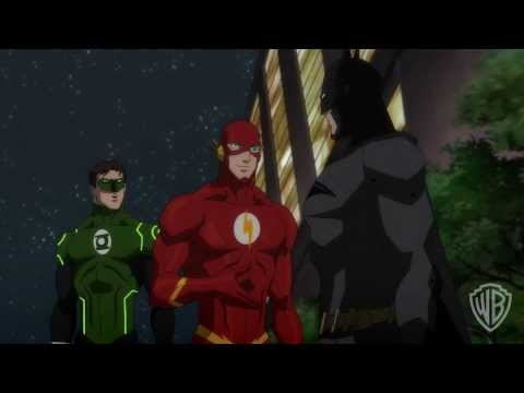 NEW OFFICIAL Justice League: War - On Your Nose Trailer