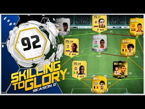 FIFA 14 - Skilling to Glory S2 ''Nani Skill Squad ft. Summer Transfers'' Episode 92