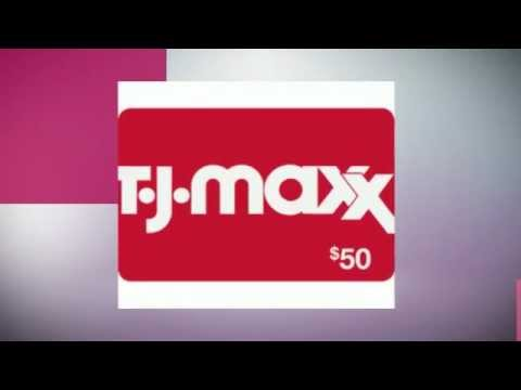 Get TJ Maxx Coupons and Gift Cards - YouTube