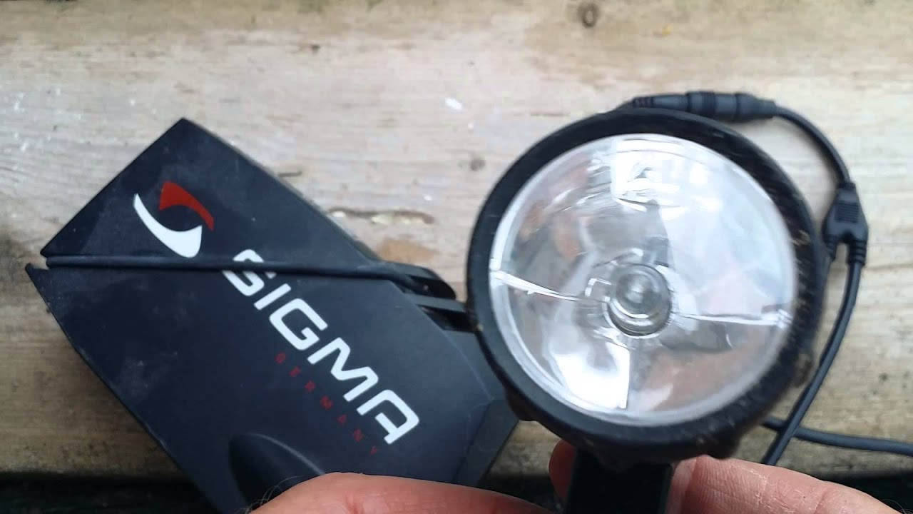 Beste mountainbike lamp voor nacht ritten - YouTube