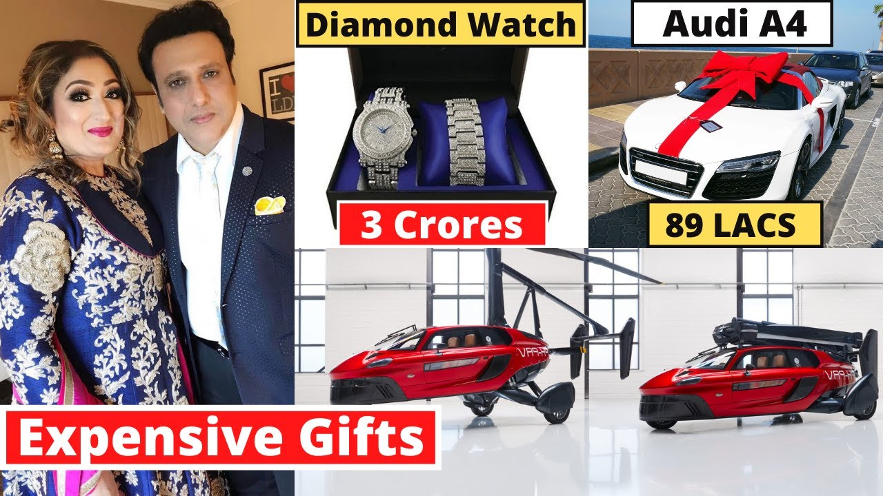 Govinda's 10 Most Expensive Birthday Gifts From Bollywood Stars | #happybirthday2020