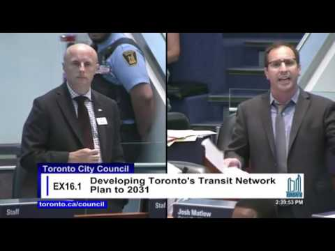 Who Asked Andy Byford for the Scarborugh Subway vs LRT Report?