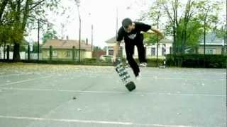 A Freestyle Skateboarding Escalation