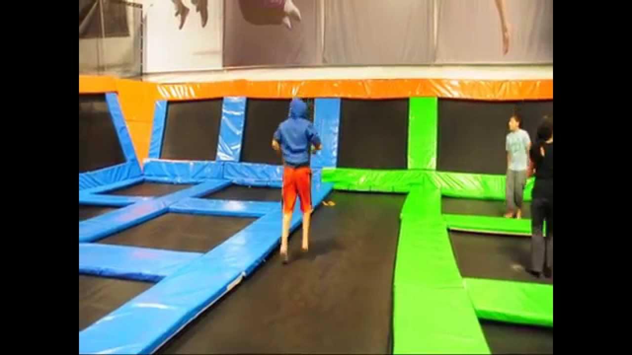 Multiple Flips Elevated Sportz Ultimate Trampoline Park