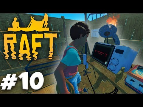 GADGETS and THINGS!   RAFT Gameplay Ep.10