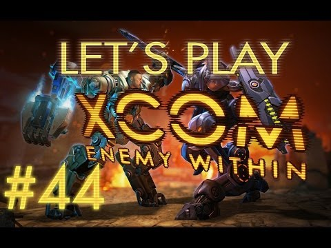 Let's Play XCOM Enemy Within (part 44 - Sectopod Brawl)