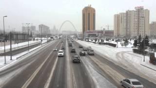 Astana in winter 2016