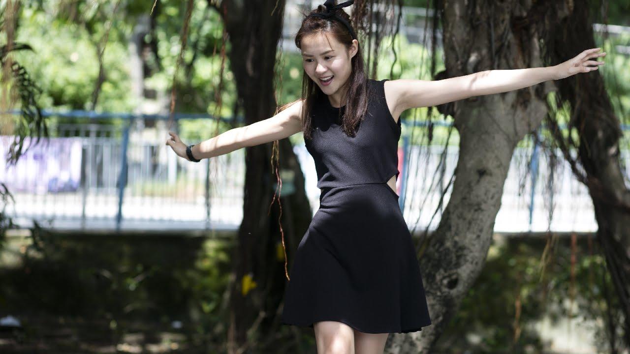 岑樂怡嚇自己 小占玩伴是女鬼? |嚇鬼系列|#02 - YouTube