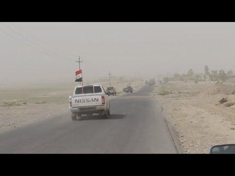 بقايا من داعش يختطفون سائقي شاحنات قرب حمرين  - نشر قبل 3 ساعة