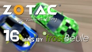 Zotac Cup - 16 wins by frostBeule (TrackMania² Canyon)