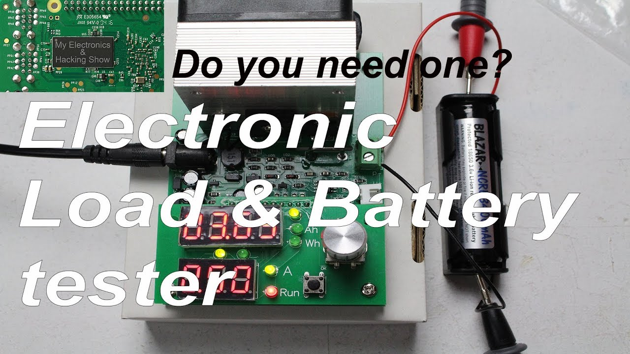 Electronics Testers Needed : Electronic load battery tester do you need one mehs