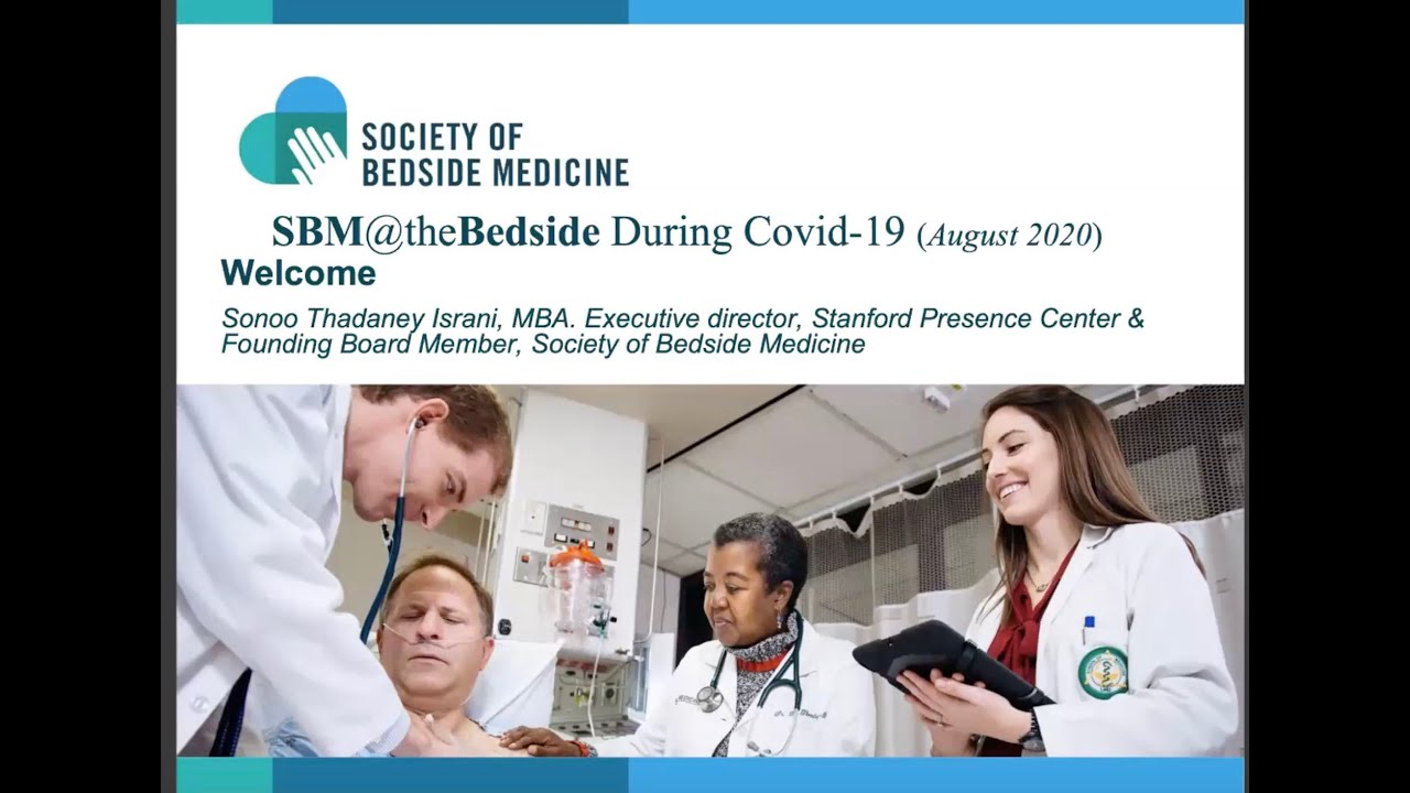 SBM@theBedside During COVID19 (August 4, 2020)