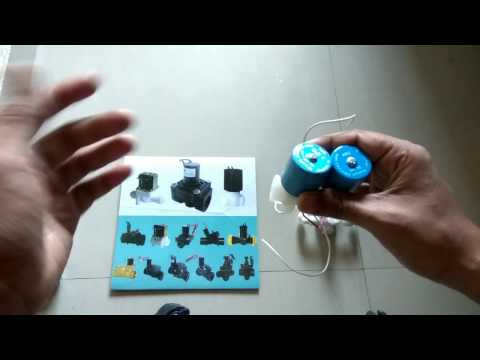 Solenoid Valve how to use and details