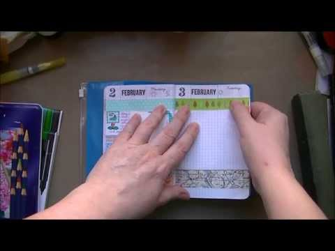 DIY Hobonichi Style Journal Planner