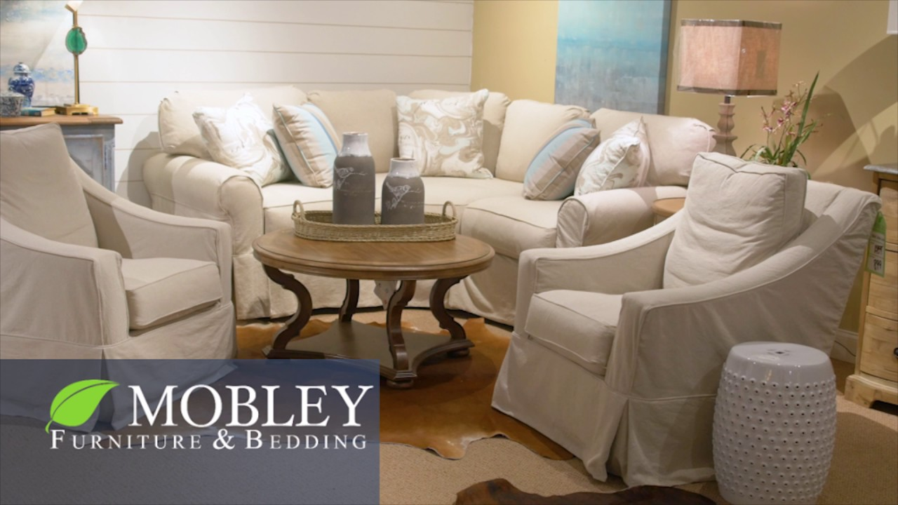 Mobley Furniture Outlet: Four Seasons Slipcover Couches