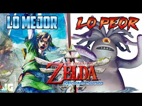 Lo Mejor y lo Peor: Zelda Skyward Sword