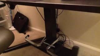 Diy Foot Rest For Center Column Mayline Height Adjustable Desk
