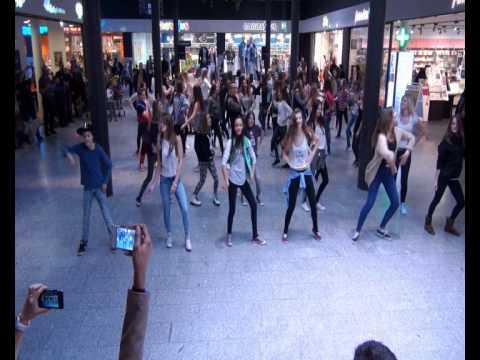 Flashmob 5.April 2014, Shopping Center Stücki Basel