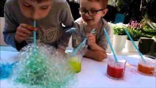 Malowanie Pianą / techniki plastyczne / zabawy z dziećmi / moje dzieci kreatywnie