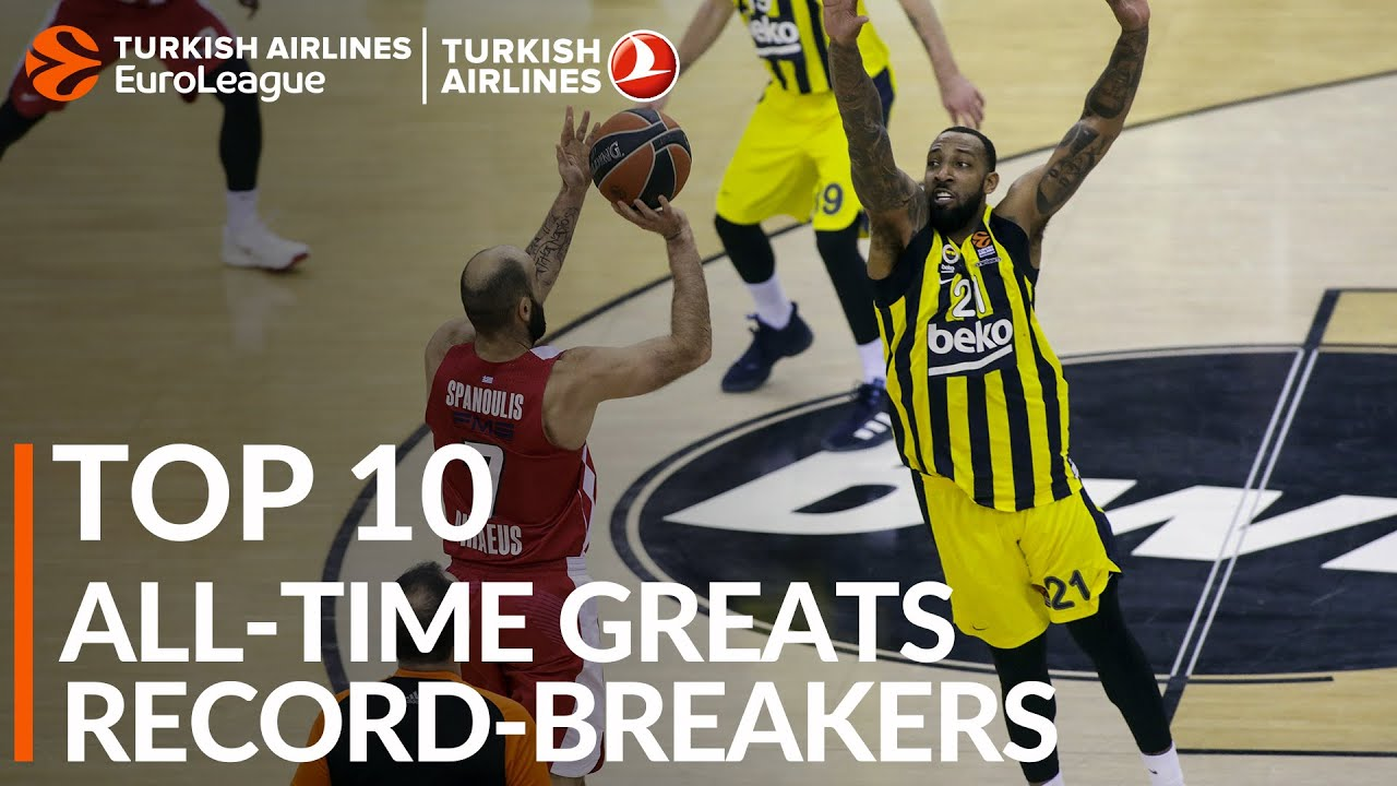 Top 10 All-time Greats: Record-breakers
