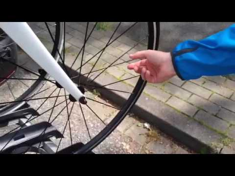 fahrrad speiche lose
