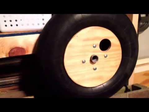 part-2---homemade-beach-wheels-for-surf-cart---test