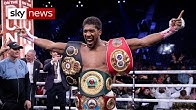 Anthony Joshua beats Andy Ruiz Jr to reclaim world heavyweight titles