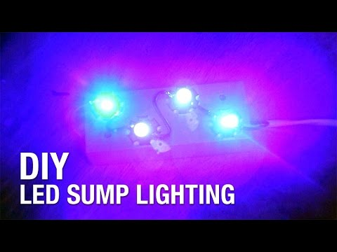 DIY : LED Sump Lighting