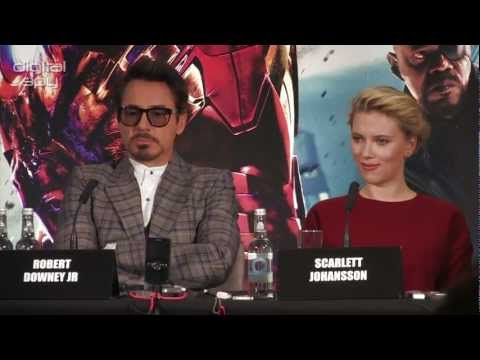 The Avengers UK Press Conference in full