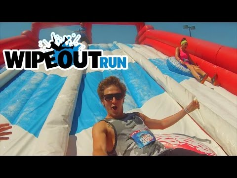 DESTROYING THE WIPEOUT RUN!
