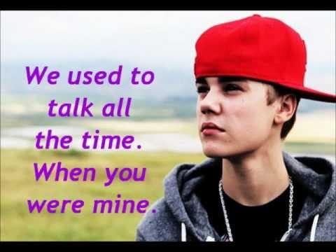 Justin Bieber - Tell me lyrics.