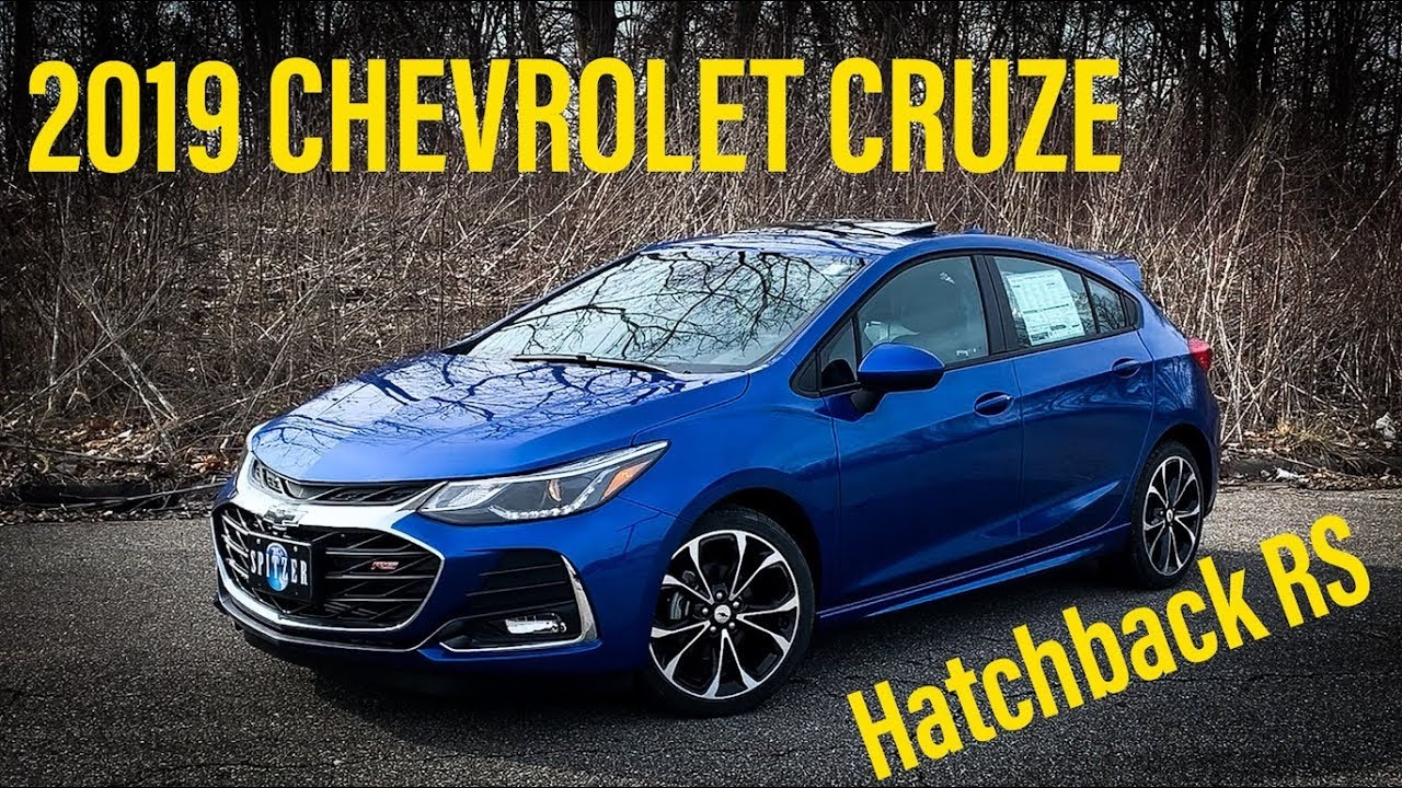 2019 Chevrolet Cruze Hatchback Rs Premier Full Review And Walk