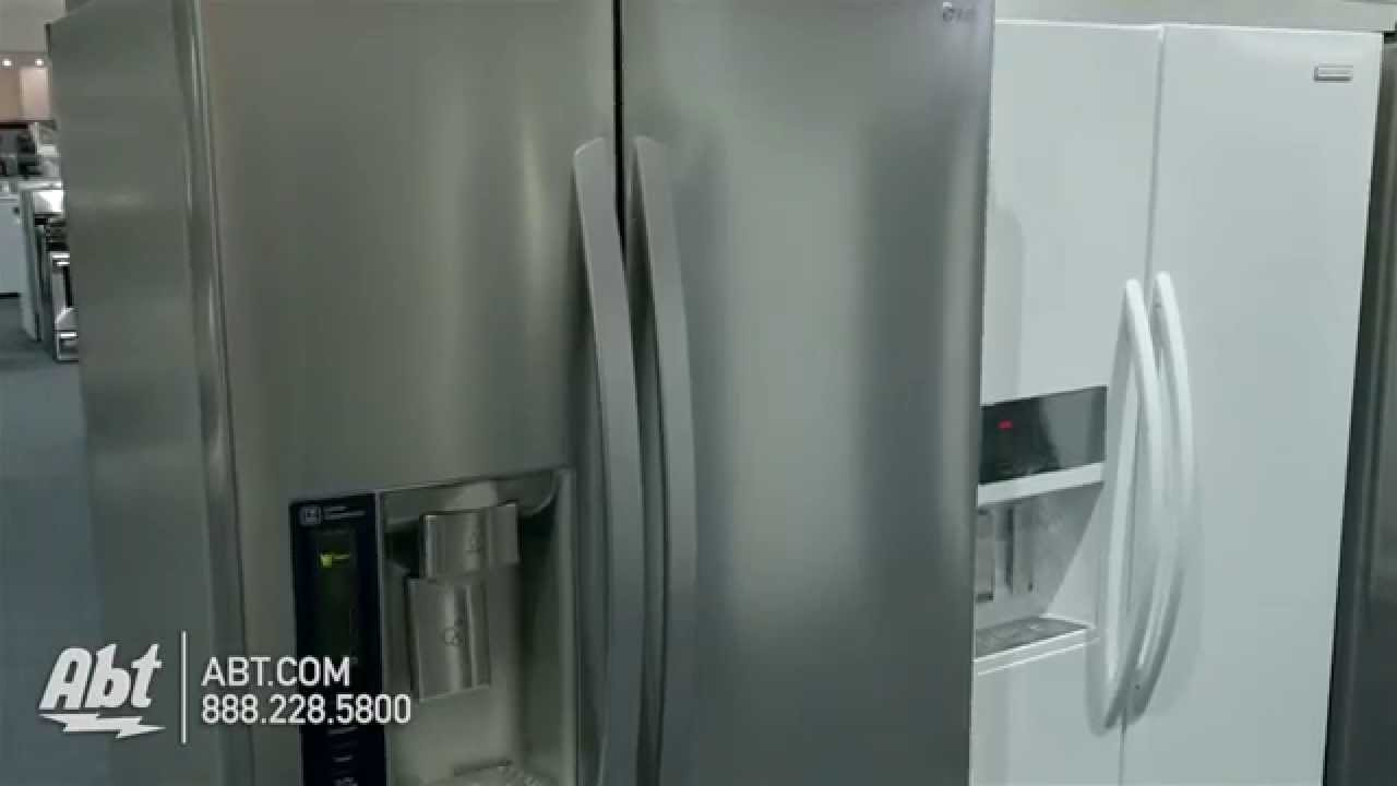 LG Stainless Steel Side By Side Refrigerator LSXS26326S   Overview   YouTube