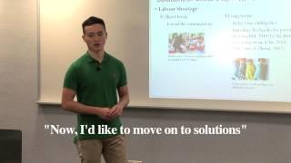 Problem-solution Presentation: Signposting