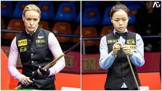 2019 Chinese Pool World Championships 中式台球世錦賽│Jasmin Ouschan vs Tang Chunxiao 唐春曉