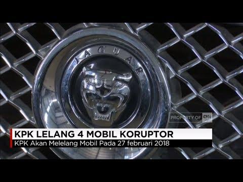 Melihat Empat Mobil Mewah Koruptor yang Dilelang KPK, Jaguar, Vellfire, Caravelle, Hardtop