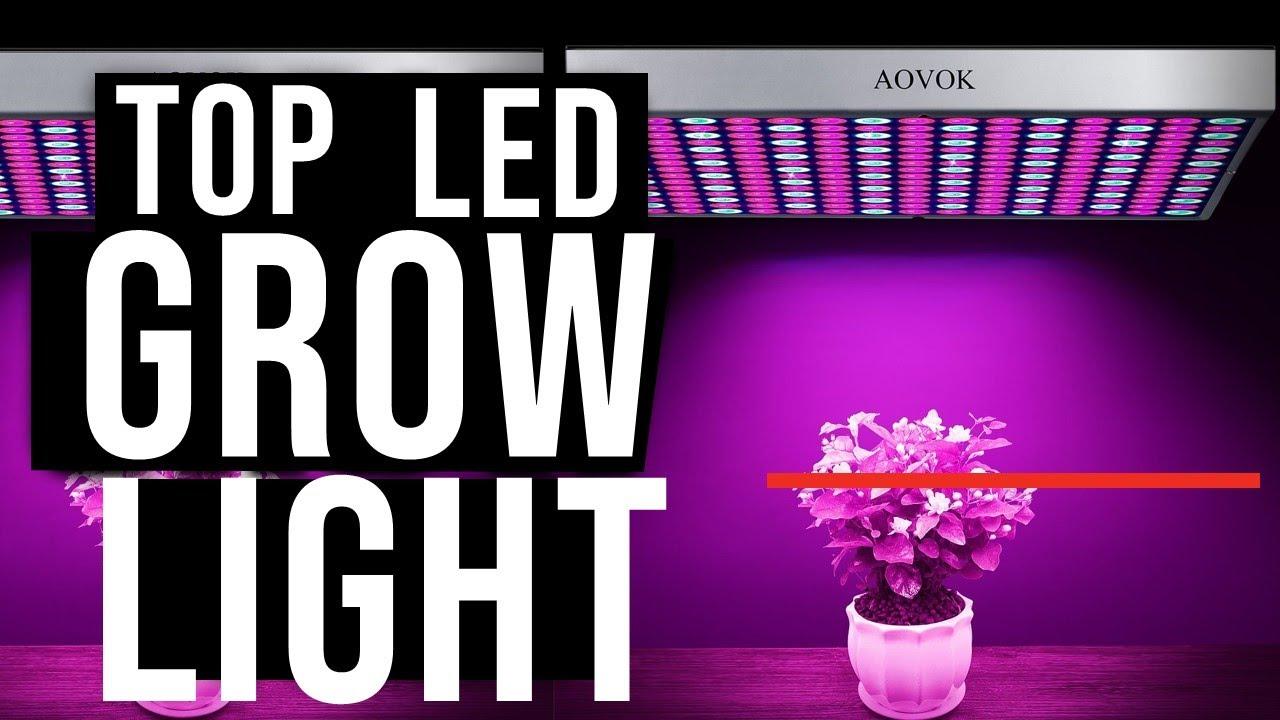 10 Best Led Grow Lights 2019 2020 Youtube