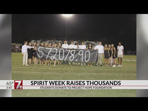 #7Inspire: Woodmont High School raises tens of thousands for charity