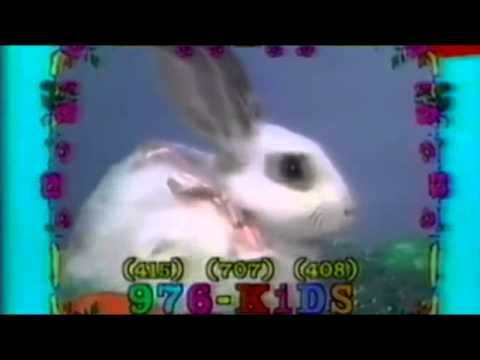 976 KIDS   Rabbit commercial