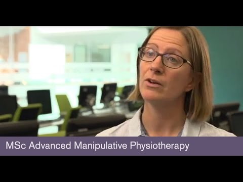 MSc Advanced Manipulative Physiotherapy - Dr Nicola Heneghan