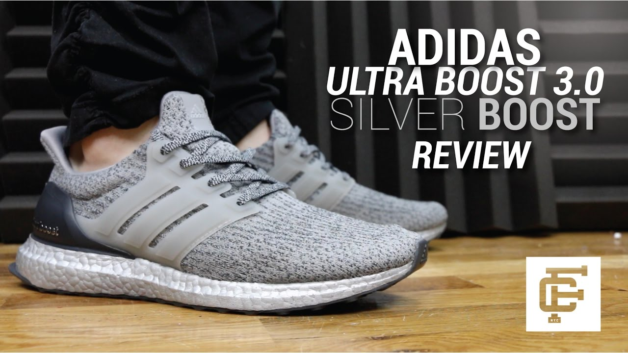 ADIDAS ULTRA BOOST 3.0 LTD SILVER BOOST REVIEW - YouTube 5f29b898f991