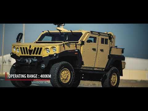 Mahindra ALSV | Light Armored Specialist Vehicle | Military Vehicle | Armored Vehicle