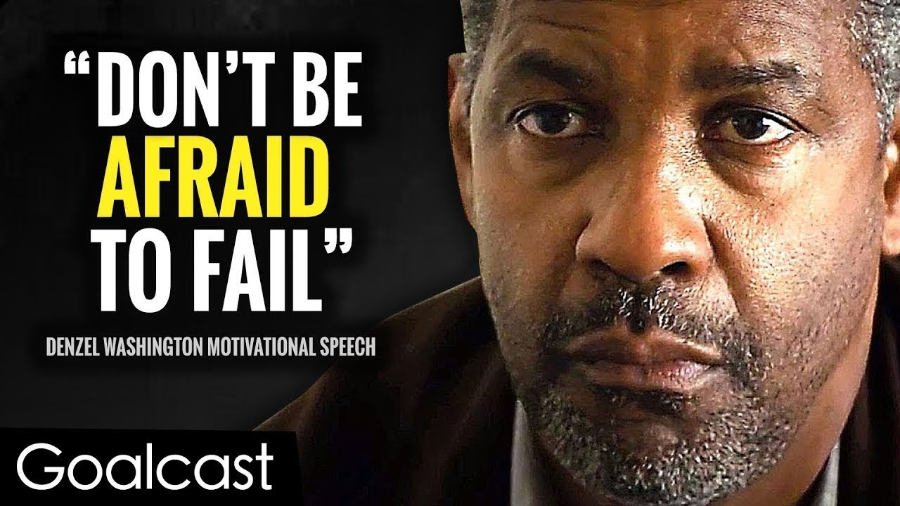 Download Denzel Washington's Greatest Life Advice Will Leave You SPEECHLESS (MUST WATCH) | Goalcast