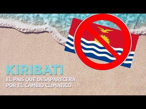 Kiribati, el país que desaparecerá por el cambio climático 🏝