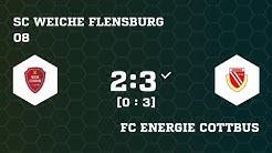 SC Weiche Flensburg 08 VS FC Energie Cottbus Full 24.05.18