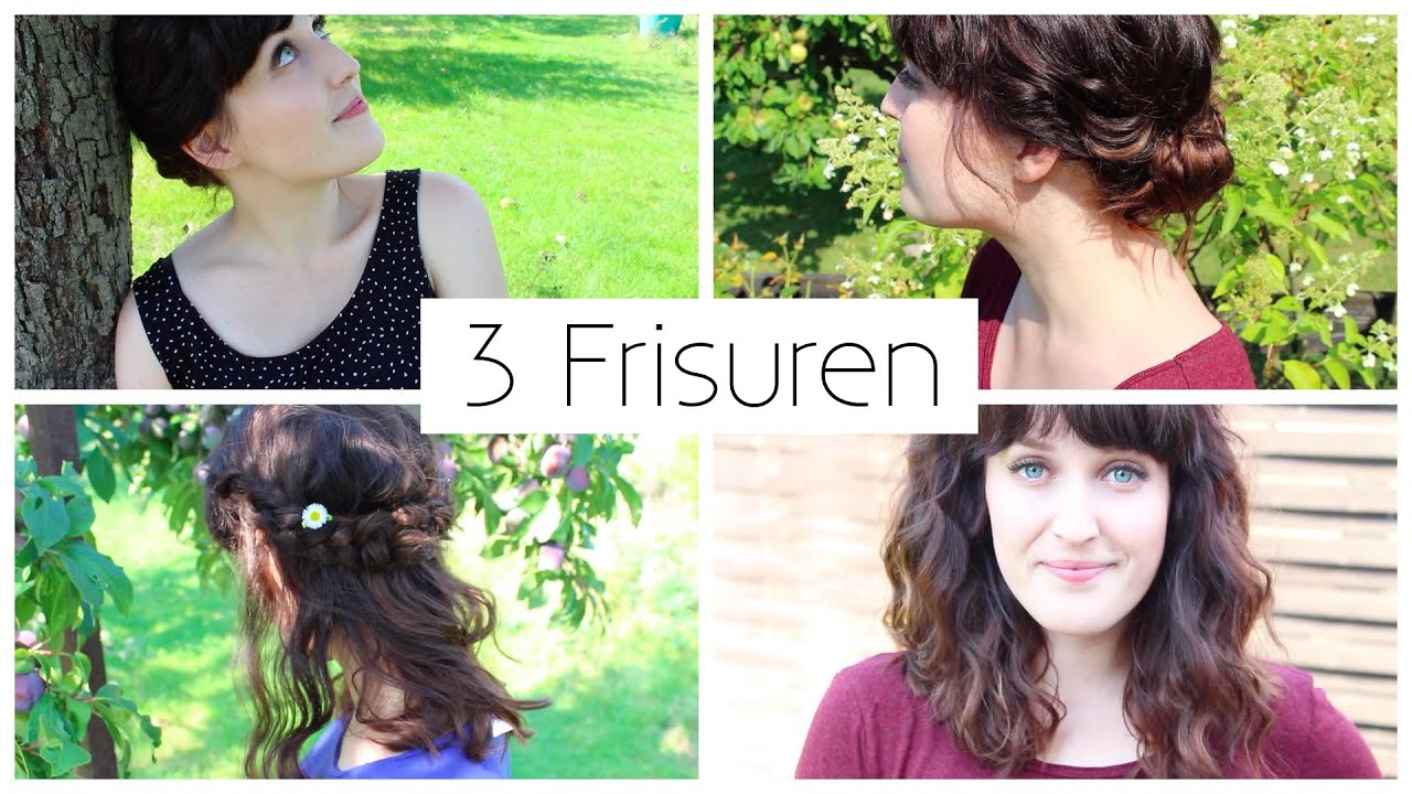 3 frisuren fur schulterlanges haar