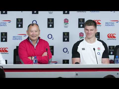 Press Conference: Eddie Jones and Owen Farrell | England v Italy | Guinness Six Nations