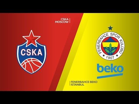 CSKA Moscow - Fenerbahce Beko Istanbul Highlights | Turkish Airlines EuroLeague