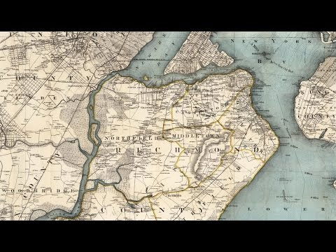 Staten Island Map and History (1896)