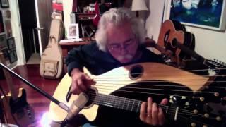 What Child Is This - Stephen Bennett on harp guitar